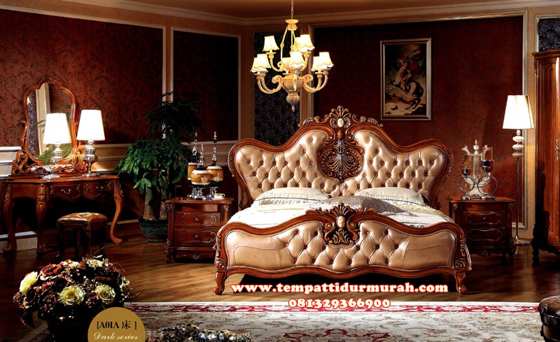 Kamar Set Romantis Mewah Royal Glory