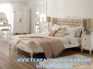 Set Ranjang Mewah Klasik Modern Bedroom Set