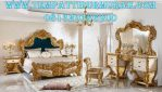 Set Kamar Ukir Luxury Gold Mecca